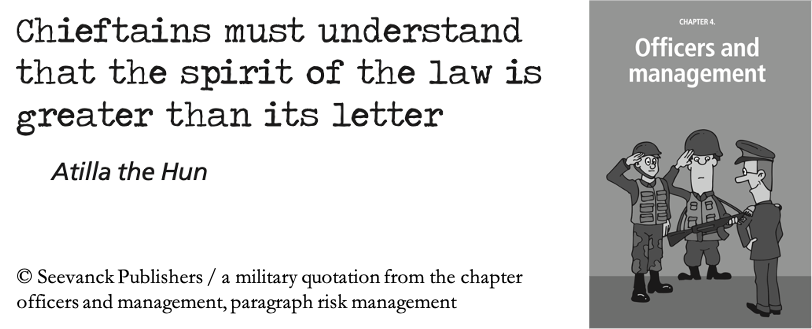 The letter or spirit of the law?